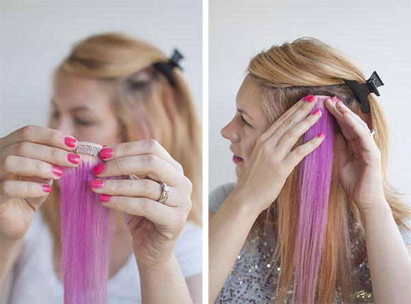Metódy predlžovania vlasov - Clip-in