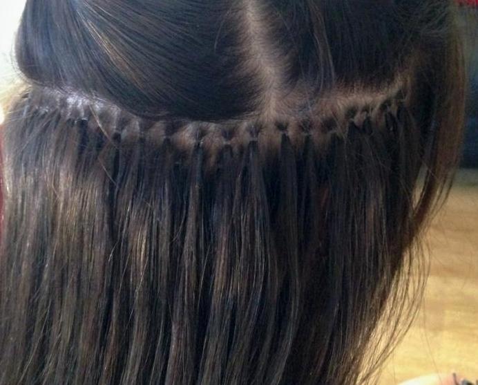 Metódy predlžovania vlasov - microring